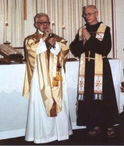 Offering Mass, Rochester, 1982.